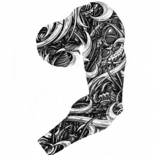 Wzór Tatuażu Rękaw Monika Wypożyczalnia Sprzętu